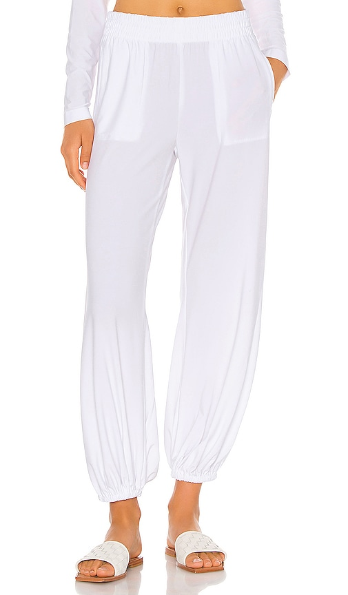 Boyfriend Puff Jog Pant by Norma Kamali, available on revolve.com for $155 Hailey Baldwin Pants SIMILAR PRODUCT