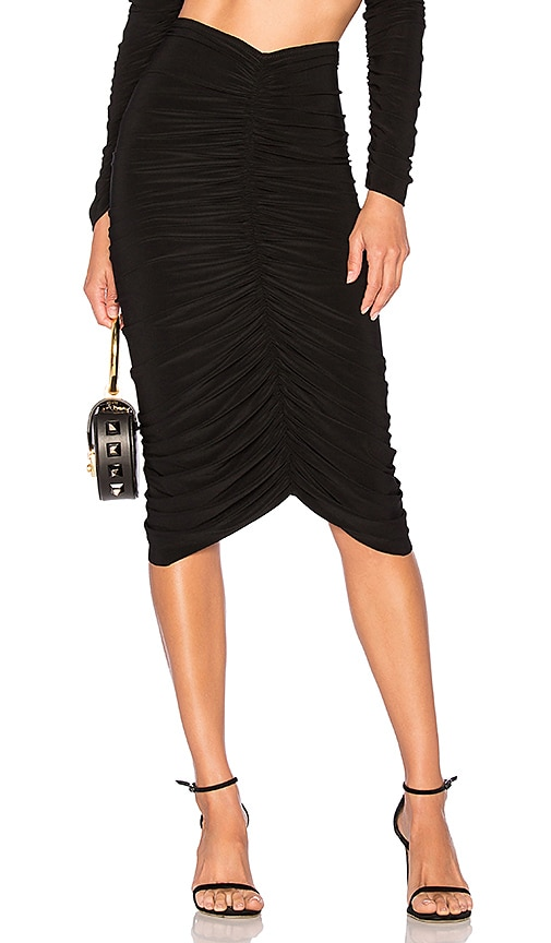 x REVOLVE Shirred Skirt