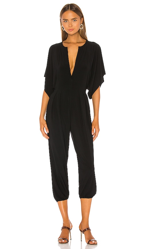 KAMALIKULTURE RECTANGLE JOG JUMPSUIT Norma Kamali
