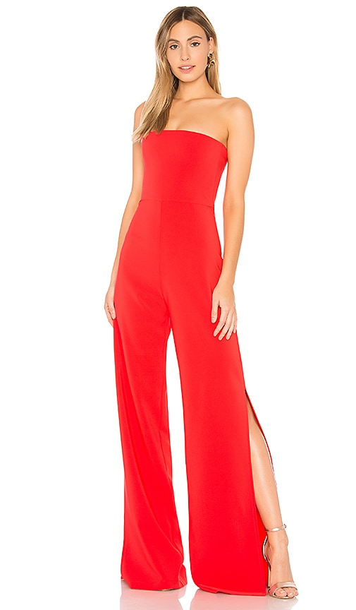 Nookie Glamour Jumpsuit in Red