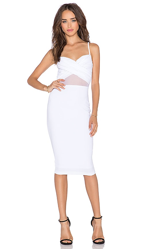 Modern Muse Twist Bustier Dress