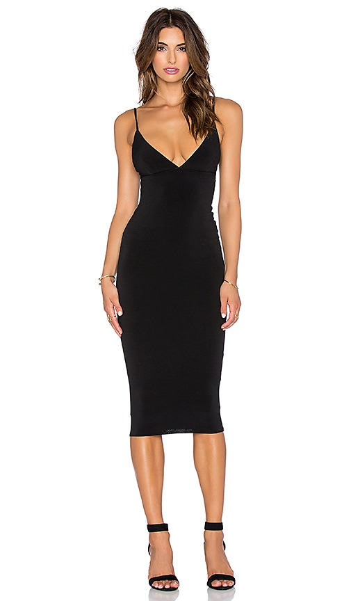 Nookie Ti Amo Shift Dress in Black