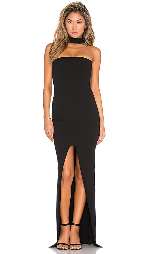 Nookie Cosmopolitan Maxi Dress in Black