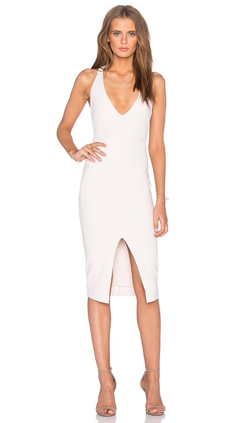Nookie Kennedy Halter Dress in Nude