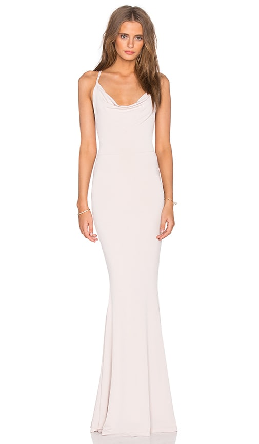 Nookie The Hustle Maxi Dress in Beige