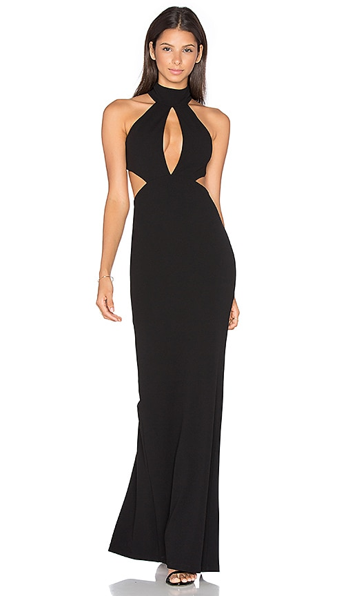 Nookie Wicked Games Gown in Black | REVOLVE