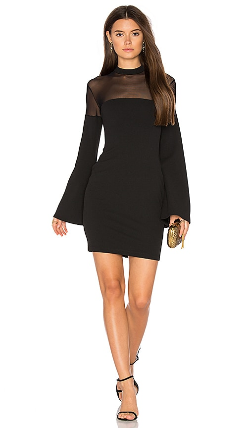 Nookie Sincity Mini Dress in Black
