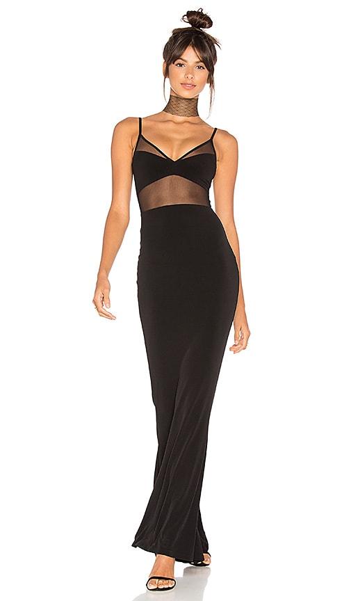 Nookie Hypnotize Gown in Black