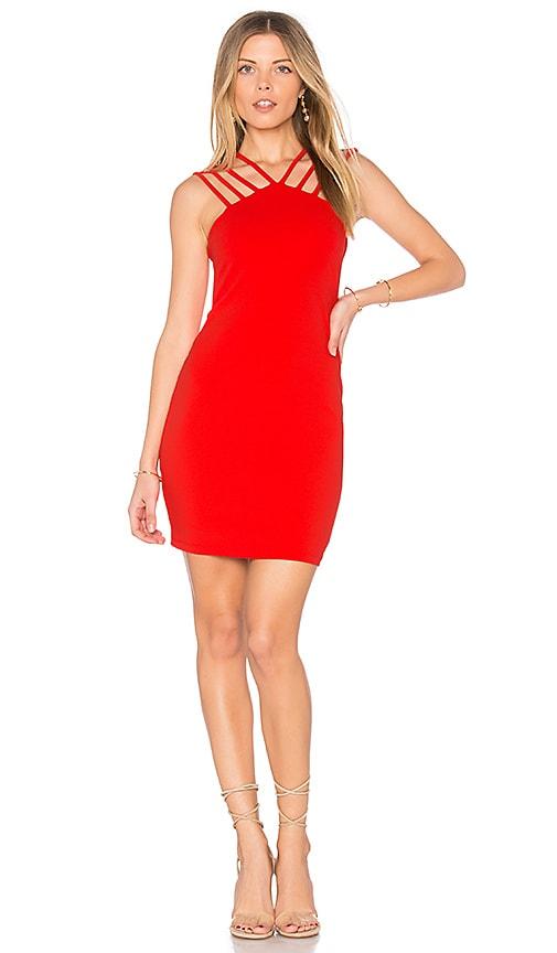 Nookie Sophia Mini Dress in Red