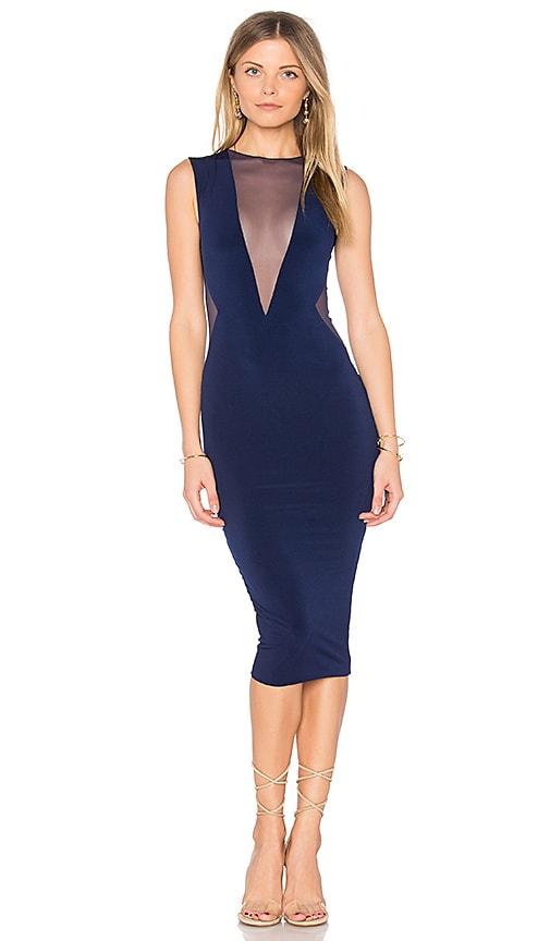 Nookie Temptation Midi Dress in Blue