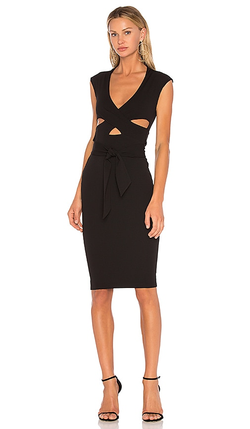 NOOKIE Miami Cutout Dress in Black