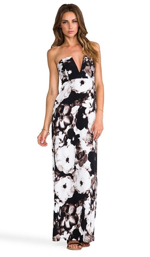 V-Front Maxi Dress