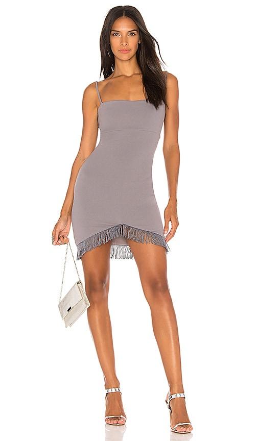 Nookie Mendez Mini Dress in Gray