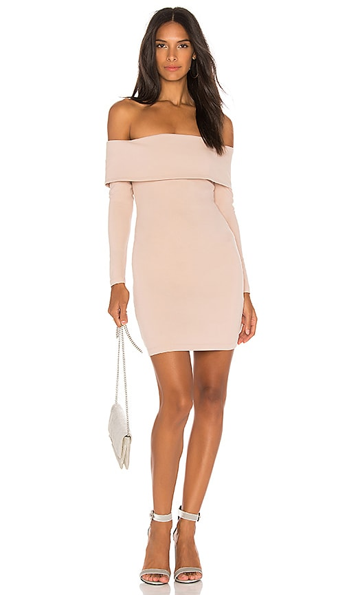 Nookie Mila Mini Dress in Blush