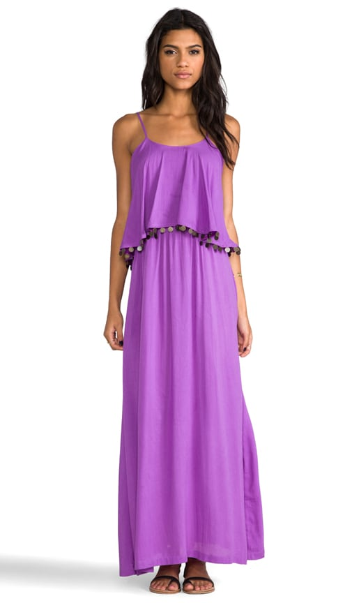 Beach Love Aesthetics Frilled Maxi
