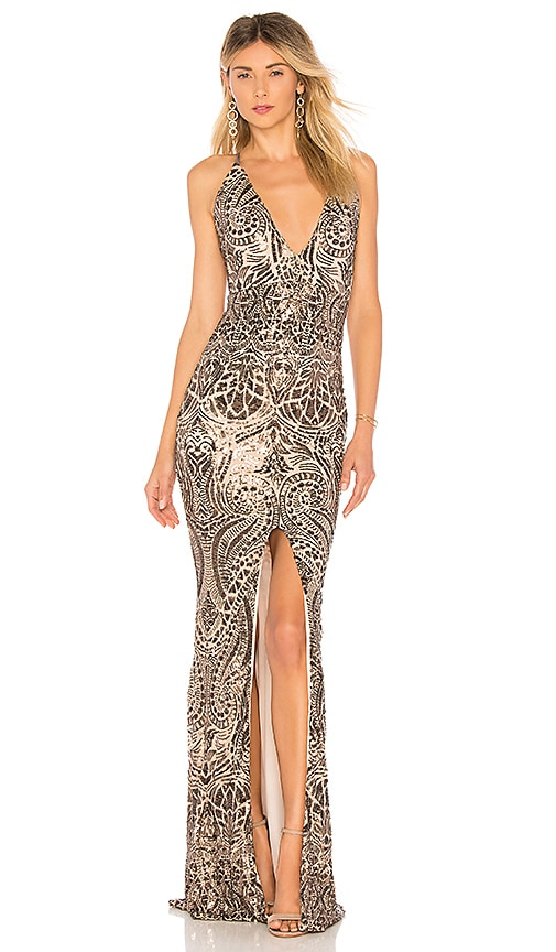 Shanina Plunge Gown