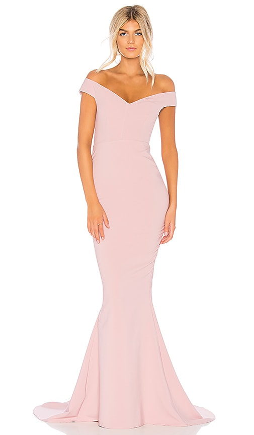 Nookie Allure Gown in Dusty Pink | REVOLVE