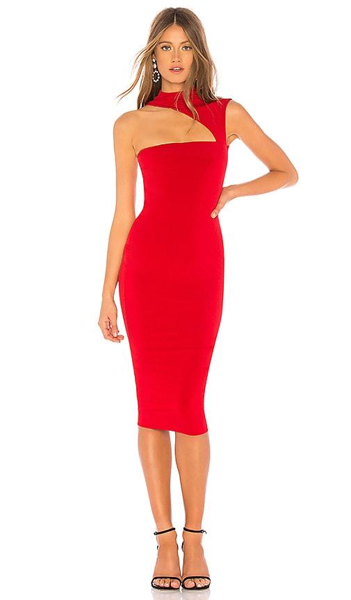 Charlize High Neck Dress