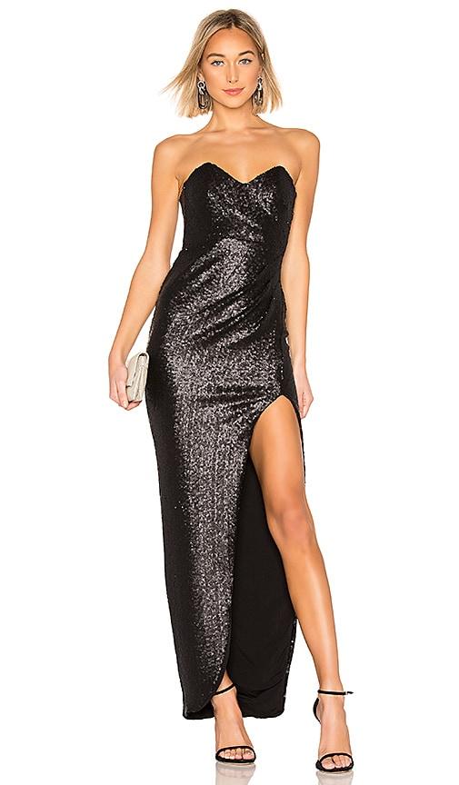 Adele Sequin Gown