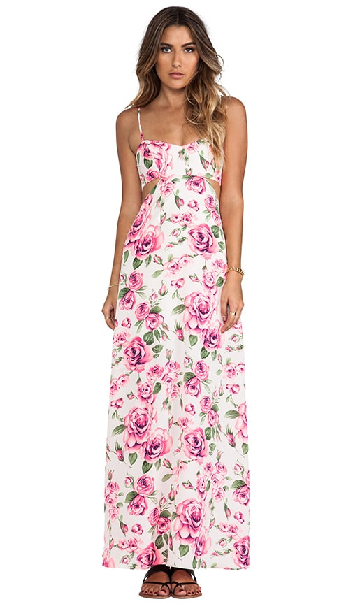 Valentine Cut Out Maxi Dress