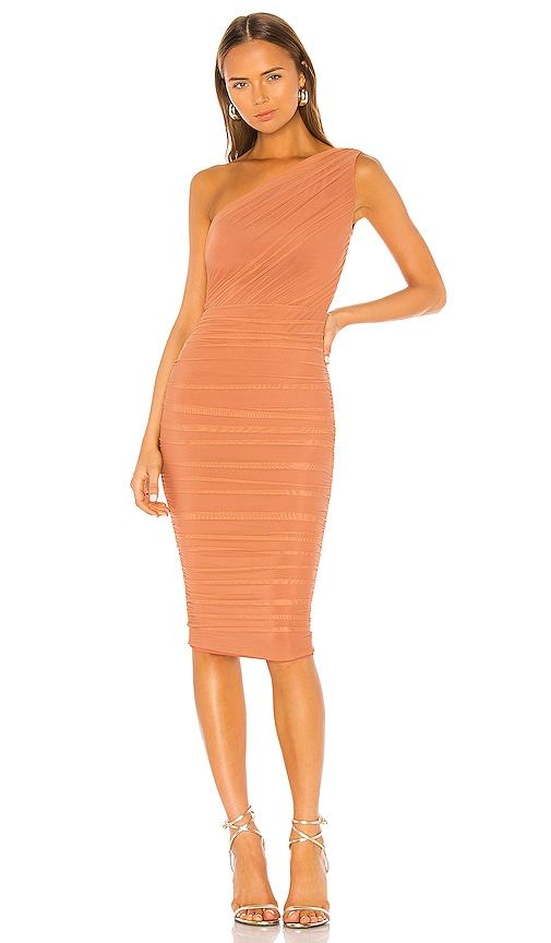 Inspire One Shoulder Midi Dress