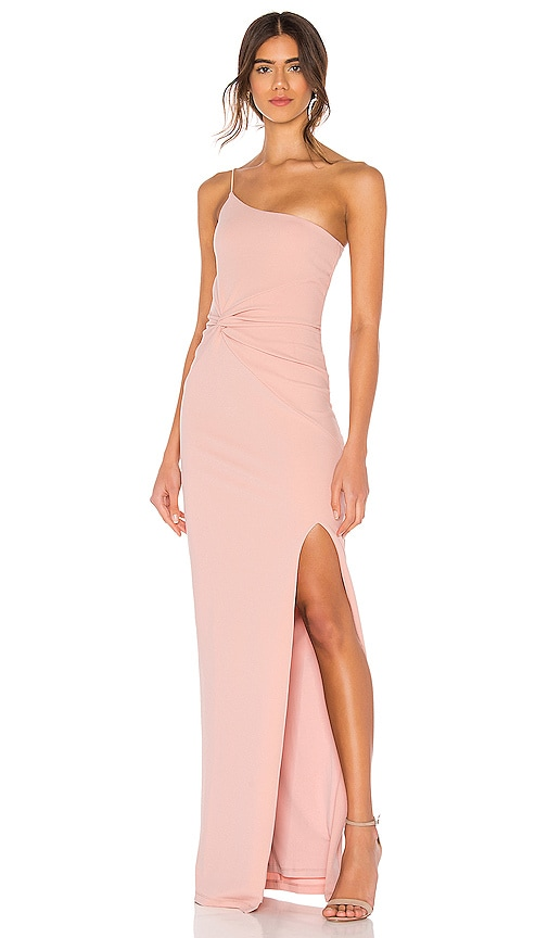VESTIDO LARGO LUST ONE SHOULDER
