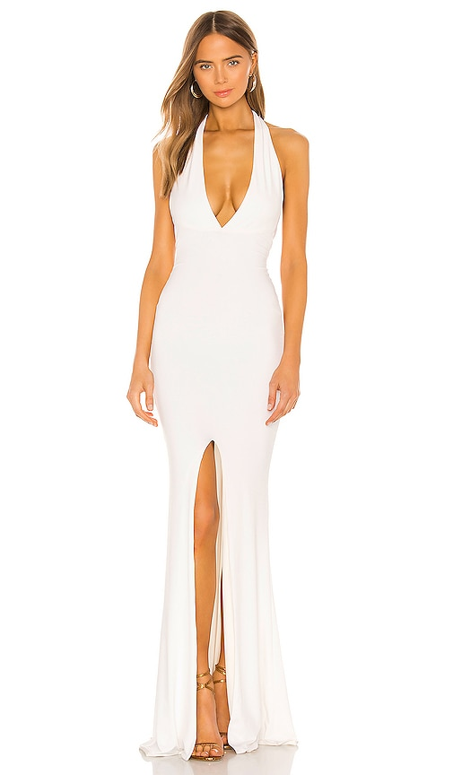x REVOLVE Illegal Halter Gown Nookie $259 BEST SELLER