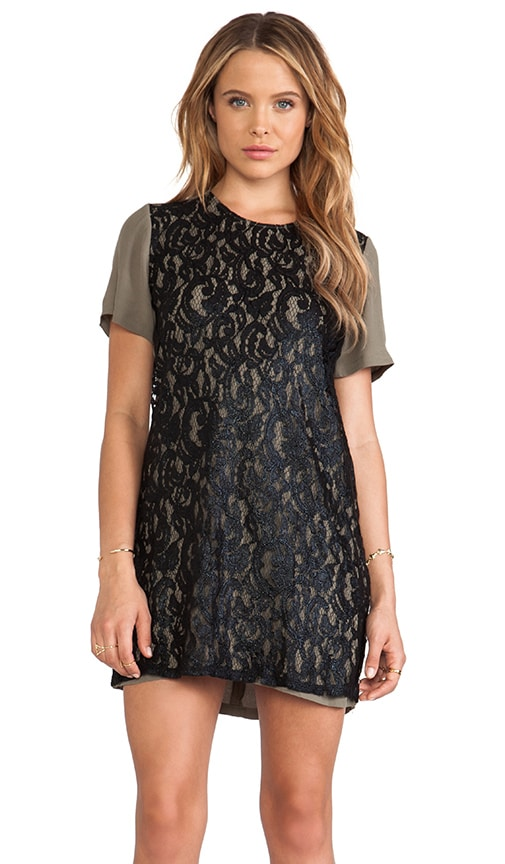 Lovelace Tee Dress