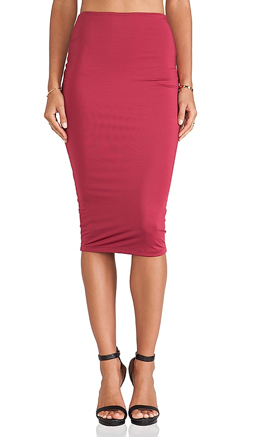 Casino Pencil Skirt