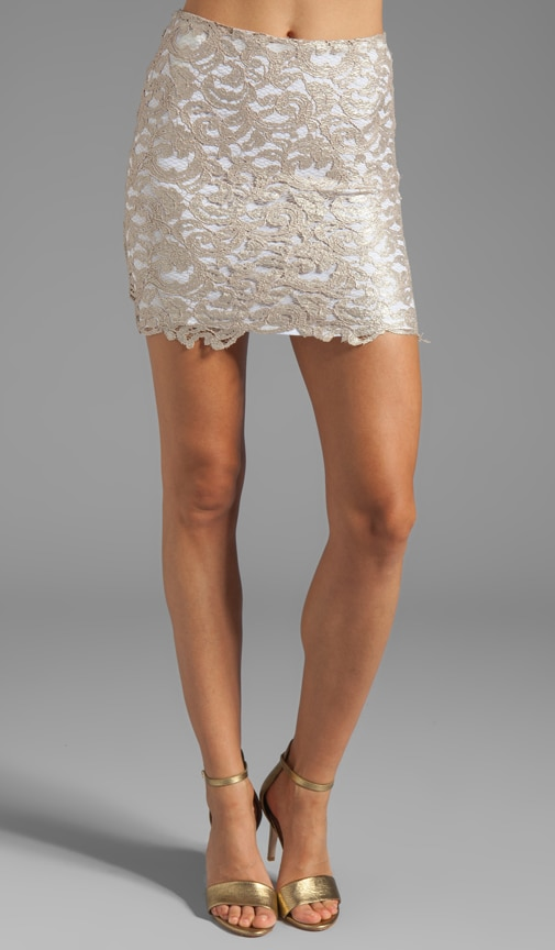 Lovelace Mini Skirt