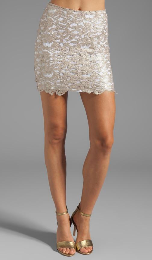 Lovelace Mini Skirt