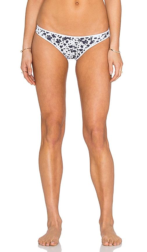 Nookie Riptide Bikini Bottom in Black & White