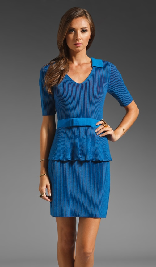 The Empress Rib Knit Dress