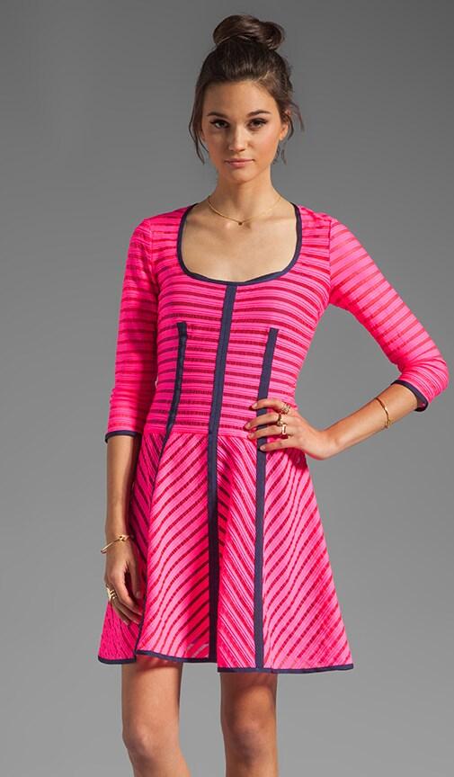 Auction Stripe 15 Minutes Dress