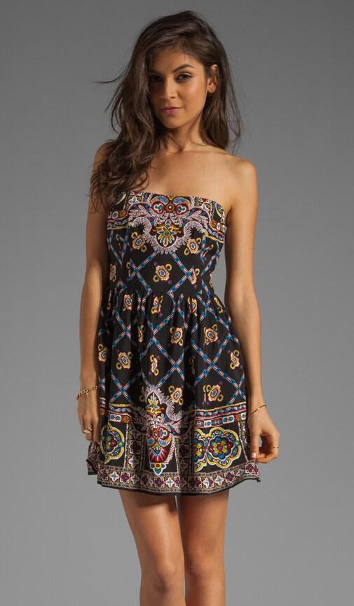 Bandana Print Blindfold Dress