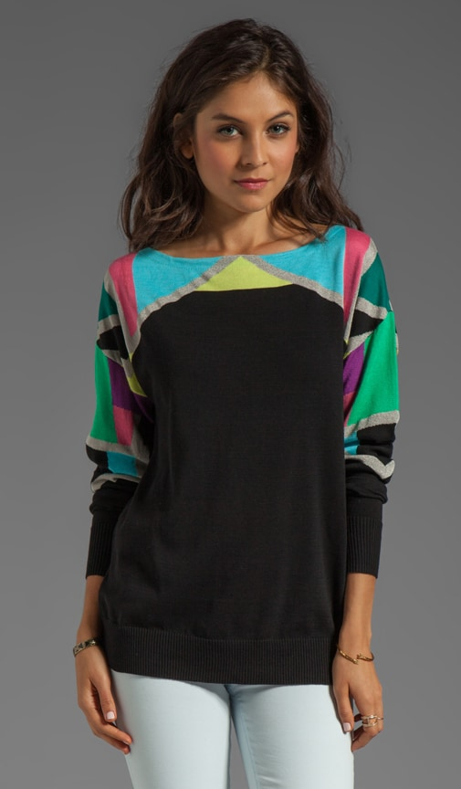 Tight Rope Knit Fire Eater Sweater