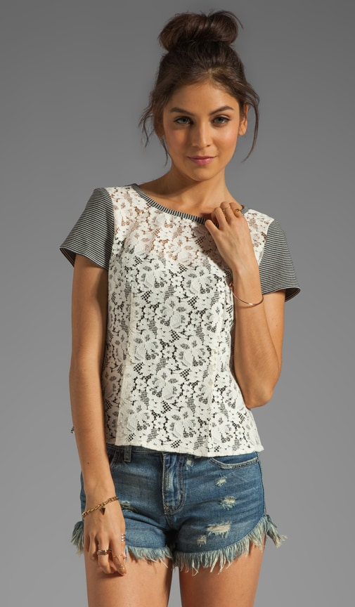 Spectacle Lace Grand Entry Top