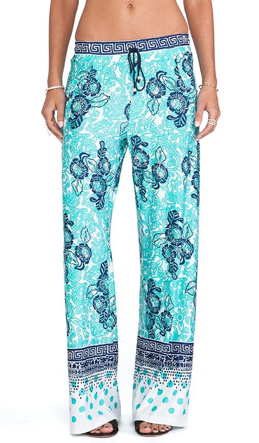 Batiki Print Beach Pants
