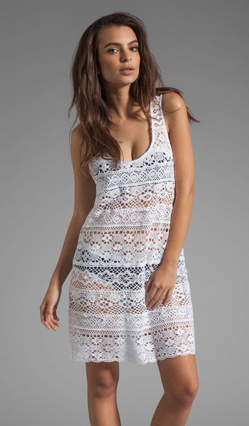 Cosmic Crochet Tank Dress Cover Up