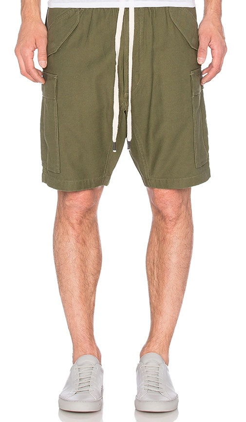 NLST Cargo Shorts in Army