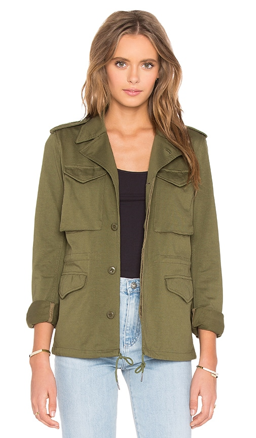 NLST Skinny M-43 Military Jacket in Green