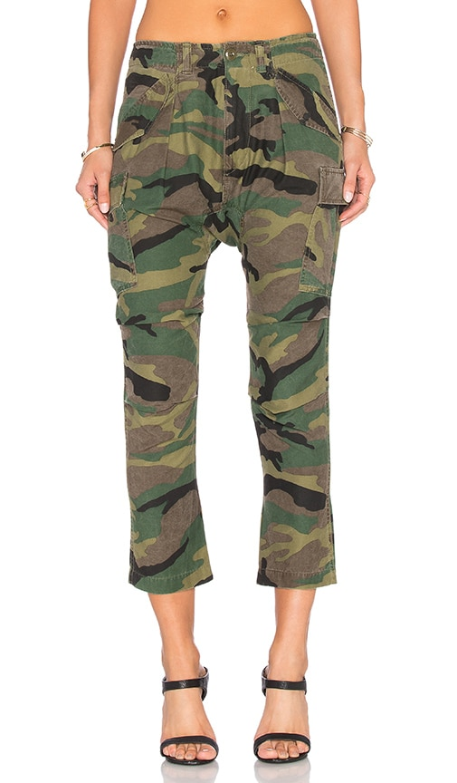 NLST Harem Cargo Pant in Army