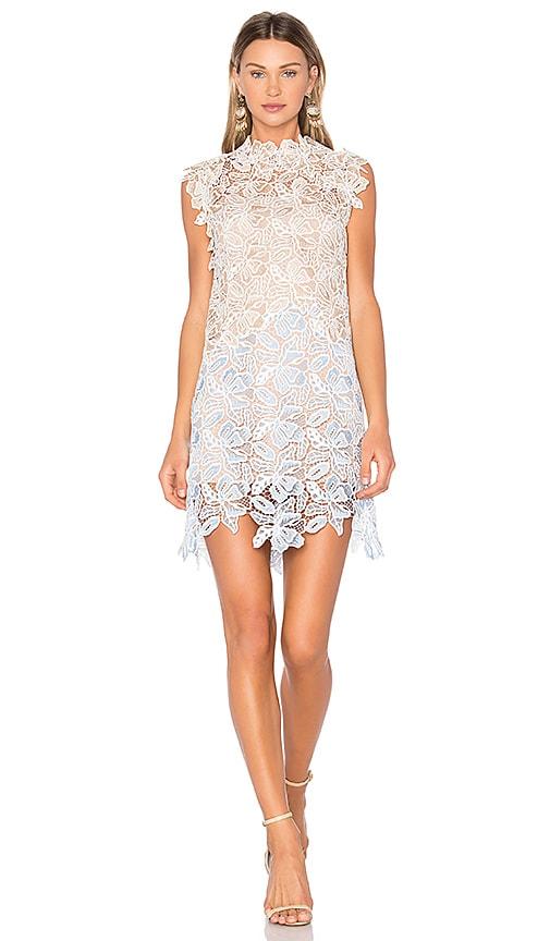 No. 21 Sleeveless Mini Dress in Tan