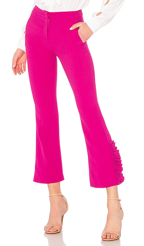 No. 21 Tapered Pant in Fuchsia