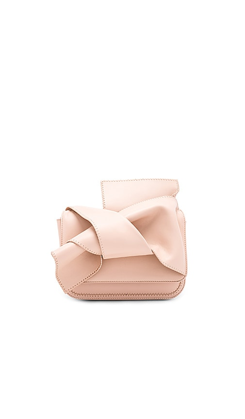 No. 21 Bow Shoulder Bag in Blush