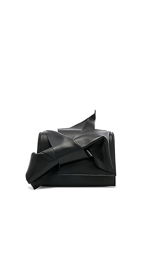 No. 21 Small Bow Bag in Black
