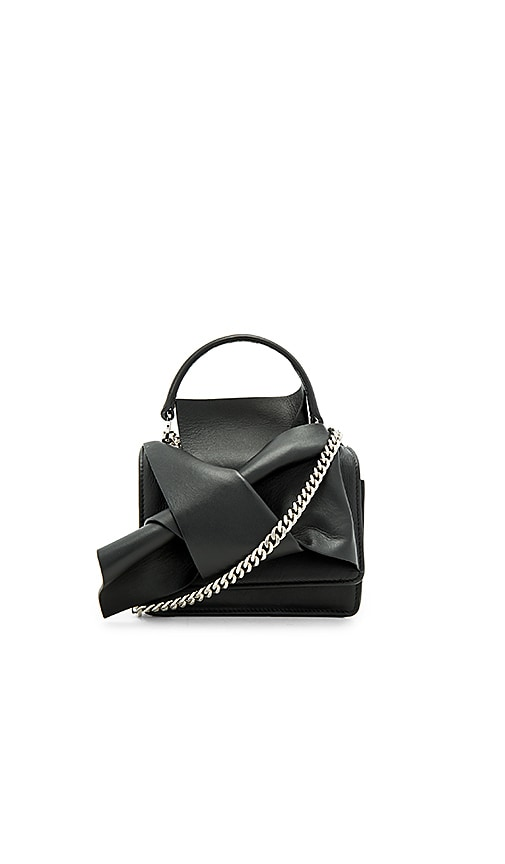 No. 21 Knotted Bag in Black