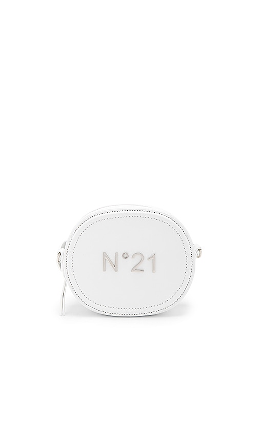 No. 21 Circle Bag in White