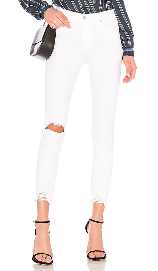 Nobody Denim Cult Skinny Ankle Jean in Dazzled