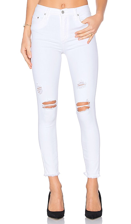 Nobody Denim Cult Ankle Skinny in Essence